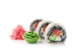 cucina nipponica sashimi uramaki tartare